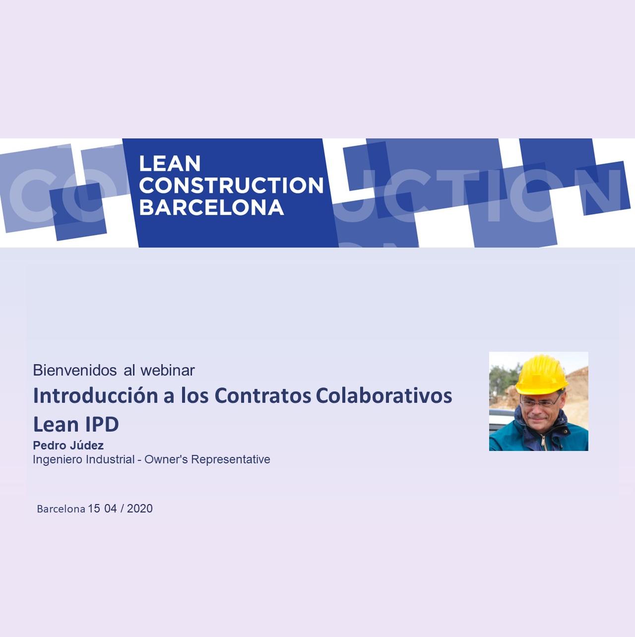 Webinar Intoducción a los contratos colaborativos