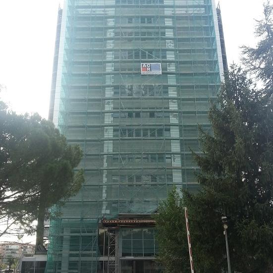 Rehabilitación de edificio de oficinas torre I Ilunion. Madrid