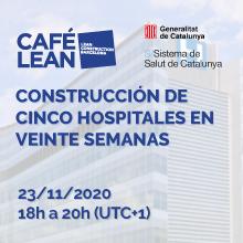 La construcción de 5 hospitales en 20 semanas